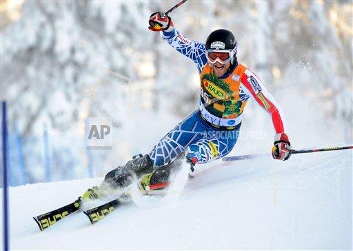 APTOPIX Finland Alpine Skiing World Cup