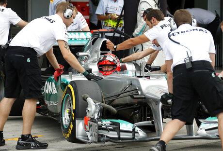 CAR F1 Schumacher's Legacy
