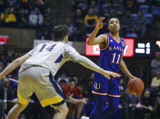 Kansas West Virginia Basketball