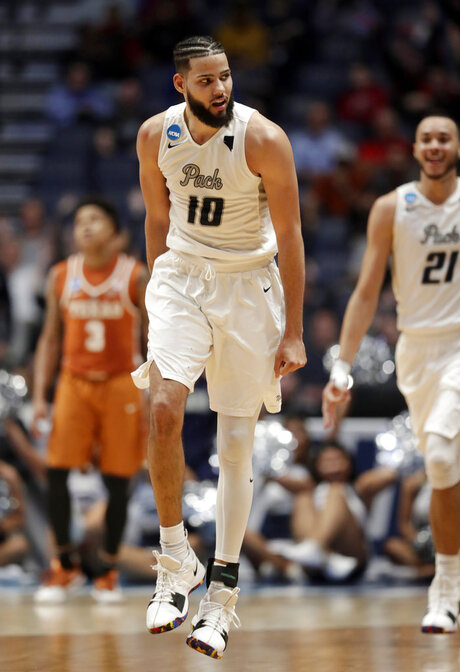 NCAA Texas Nevada Basketball