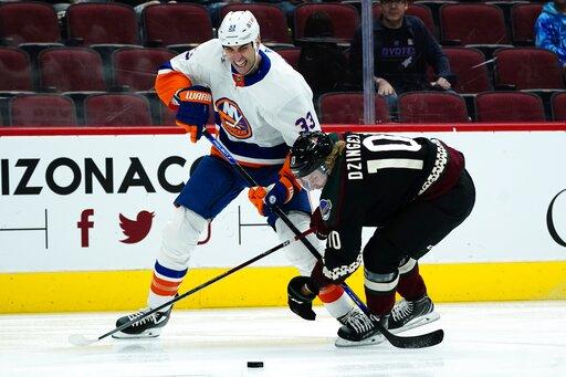 Islanders Coyotes Hockey