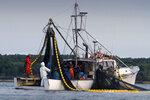 Fishermen on Capt. Tim Bayley's vessel
