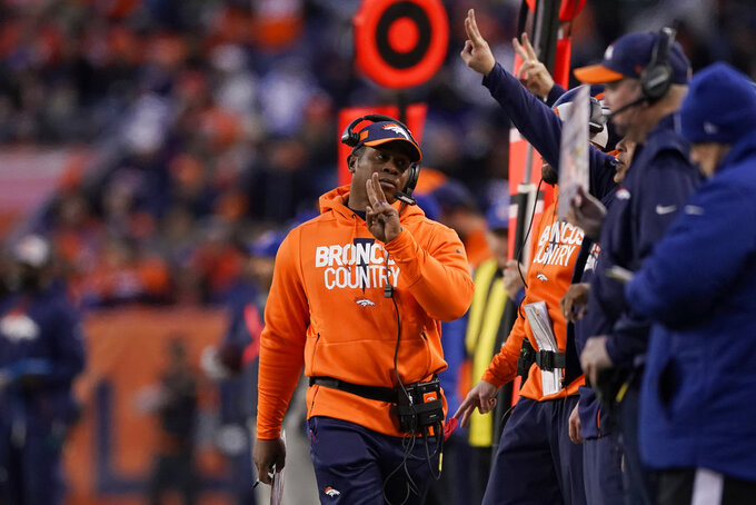 Broncos fire Vance Joseph after 11-21 mark over 2 years