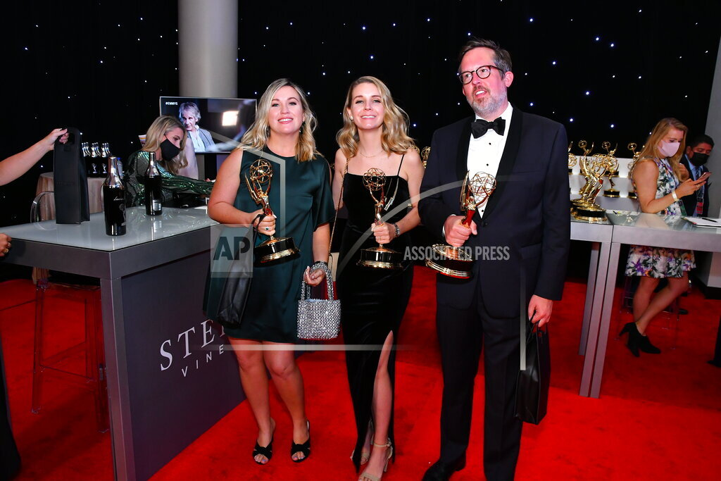 Sterling Vineyards Gifts Iridium at The 73rd Emmy Awards