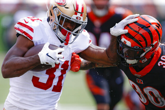Undrafted players fuel 49ers running game