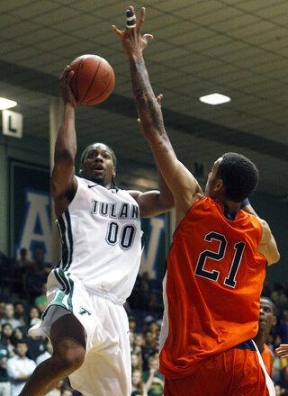 UTEP Tulane Basketball