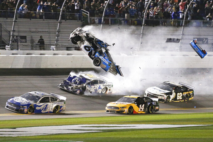 Ryan Newman returns to scene of harrowing Daytona 500 crash
