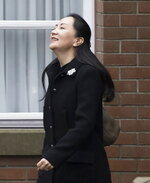 Meng Wanzhou, chief financial officer of Huawei leaves her home in Vancouver, Monday, January, 20, 2020. A court hearing begins today in Vancouver over the American request to extradite an executive of the Chinese telecom giant Huawei on fraud charges. (Jonathan Hayward/The Canadian Press via AP)