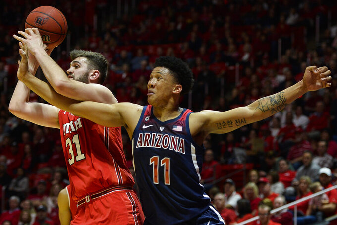 Arizona Wildcats at Utah Utes 2/14/2019