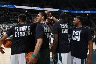 North Florida Michigan St Basketball