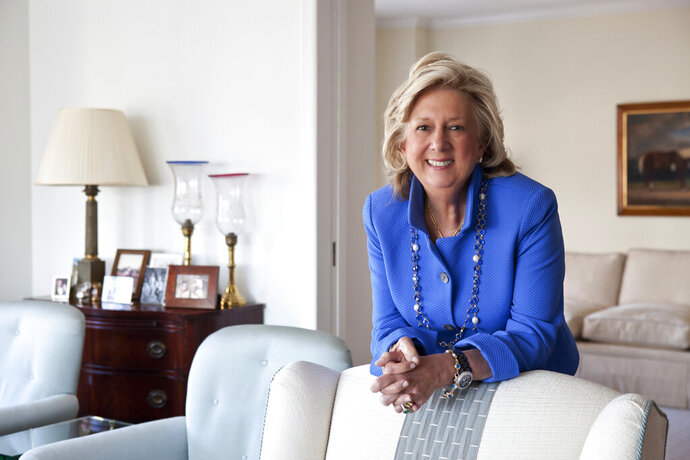 "This undated photo provided by Penguin Random House shows Linda Fairstein. The former ""Central Park Five"" prosecutor Fairstein is condemning how she's portrayed in the Netflix series ""When They See Us,"" writing that the program is ""full of distortions and falsehoods."" (Katherine Marks/Penguin Random House via AP)"