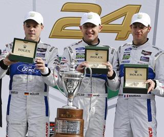 Dirk Mueller, Joey Hand, Sebastian Bourdais