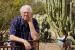 In this April 8, 2021, photo Tom Rawles poses for a photo in Carefree, Ariz. Rawles is an ex-Republican county supervisor in Maricopa County, which includes Phoenix and was critical in Biden carrying swing-state Arizona. After voting for Biden, Rawles registered as a Democrat. (AP Photo/Ross D. Franklin)