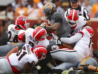 APTOPIX Georgia Tennessee Football