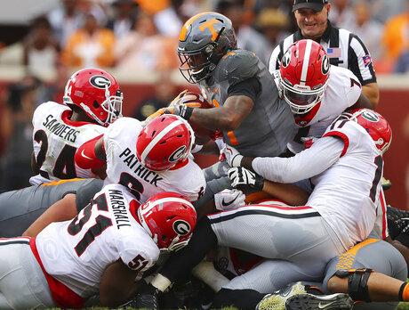 APTOPIX Georgia Tennessee Football