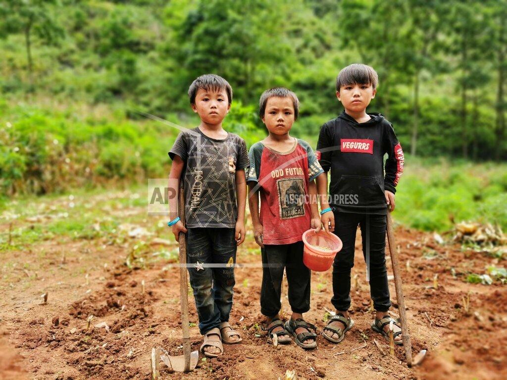 CHINA GUANGXI HECHI SUMMER HOLIDAY CHILDHOOD POVERTY