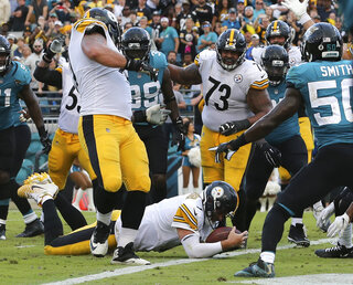 Steelers Jaguars Football