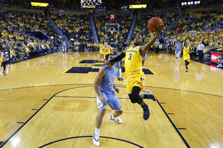 North Carolina Michigan Basketball