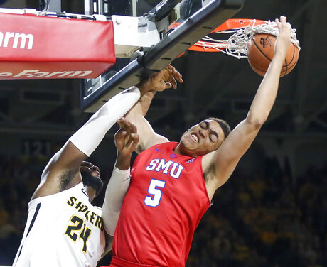 SMU Wichita St Basketball