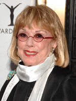 """FILE - In this Sunday, June 7, 2009, file photo, actor Phyllis Newman arrives at the 63rd Annual Tony Awards in New York. Newman, a Tony Award-winning Broadway veteran who became the first woman to host """"The Tonight Show"""" before turning her attention to fight for women's health, died Sunday, Sept. 15, 2019, in New York. She was 86. (AP Photo/Peter Kramer, File)"""