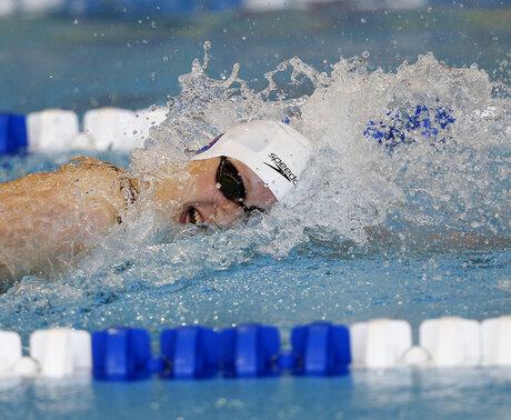 Atlanta Ledecky Swimming