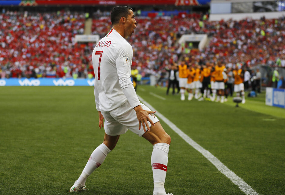 APTOPIX Russia Soccer WCup Portugal Morocco