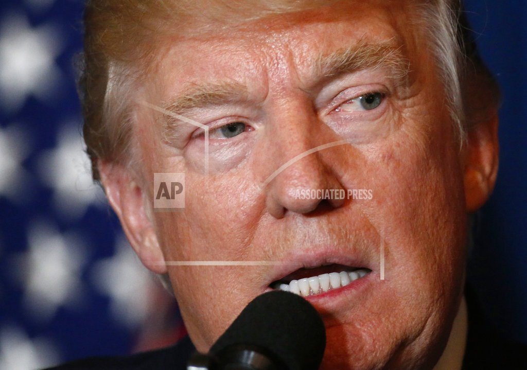 APTOPIX Trump US Syria