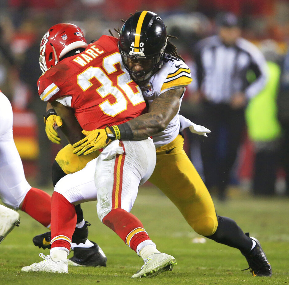 Bud Dupree, Spencer Ware