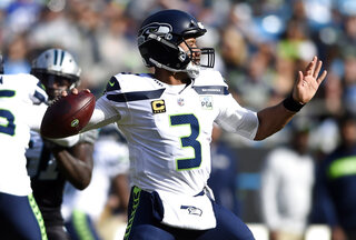 Seahawks Passing Grade Football