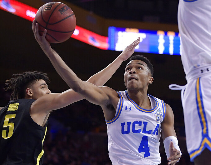 Hands leads UCLA's 2nd-half rally to beat Oregon 90-83