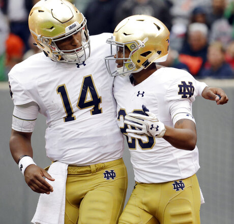 Notre Dame Syracuse Football