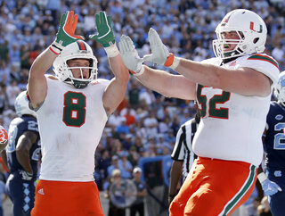 Miami Berrios Football