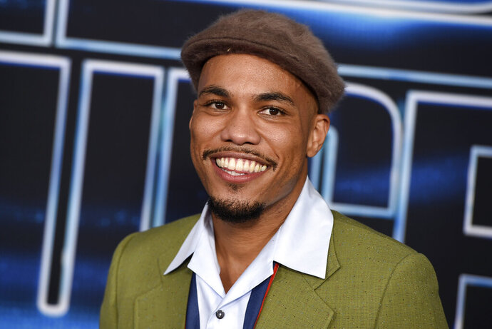 FILE - In this Dec. 4, 2019 file photo, Anderson .Paak arrives at the world premiere of