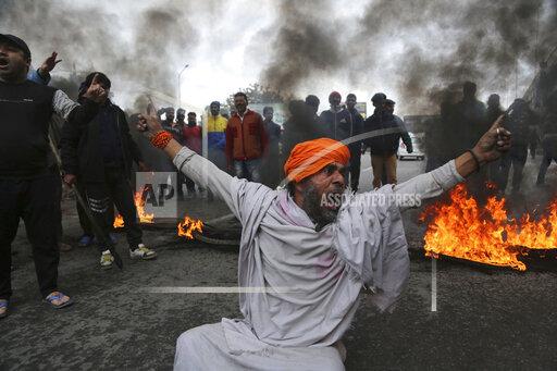 APTOPIX India Kashmir Explosion