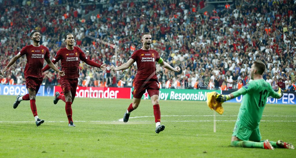 APTOPIX Turkey Super Cup Soccer