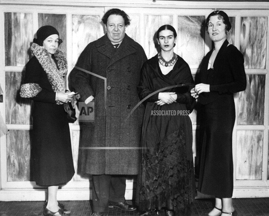 Watchf Associated Press Domestic News  Pennsylvania United States APHS57849 Kahlo Rivera 1932