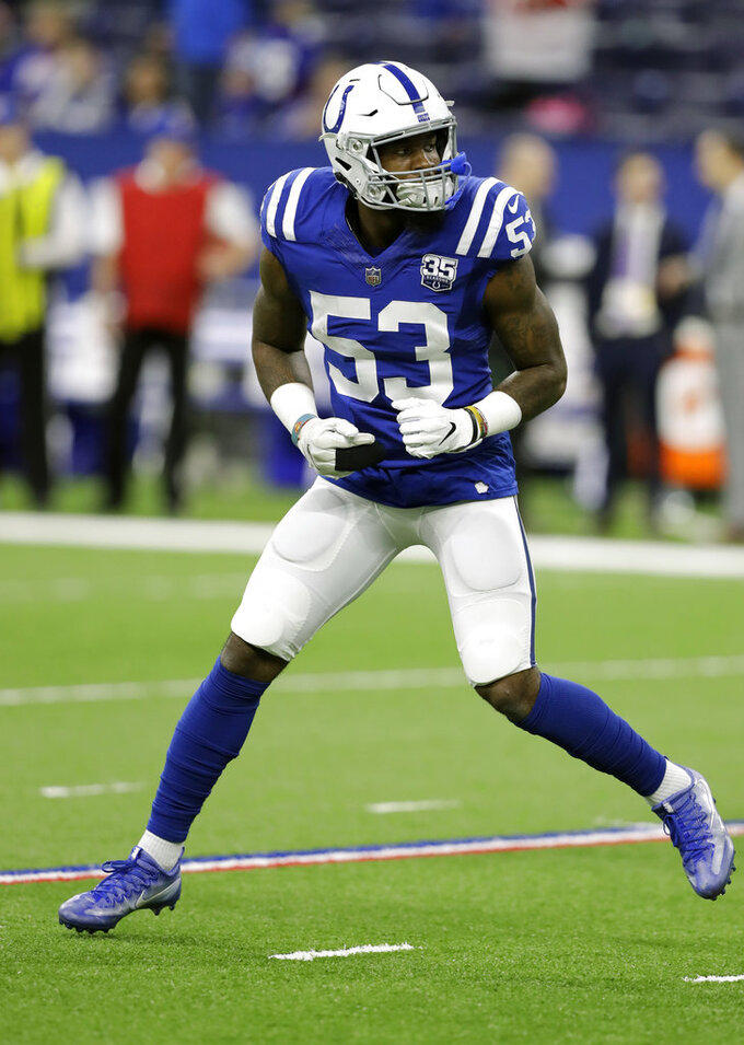 New York Giants at Indianapolis Colts 12/23/2018