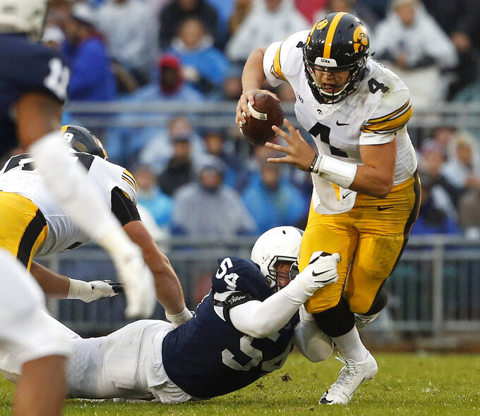 CFP dreams dashed, No. 19 Iowa seeks Big Ten division title