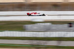 Kimi Raikkonen of Alfa Romeo drives during a Formula One pre-season testing session at the Barcelona Catalunya racetrack in Montmelo, outside Barcelona, Spain, Thursday, Feb. 20, 2020. (AP Photo/Joan Monfort)