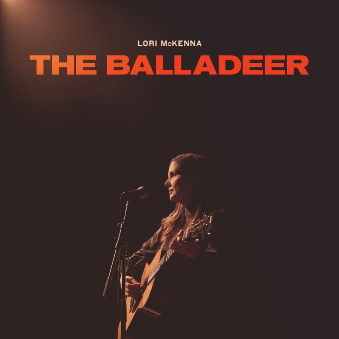 """This cover image released by CN Records/Thirty Tigers shows """"The Balladeer"""" by Lori McKenna. (CN Records/Thirty Tigers via AP)"""