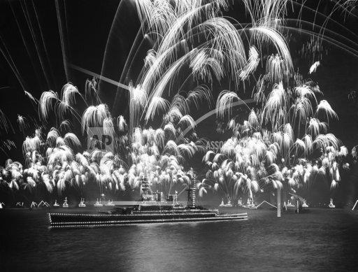 British Fleet Fireworks