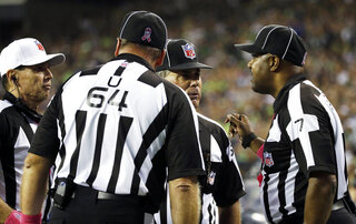 Officiating Gaffes Football