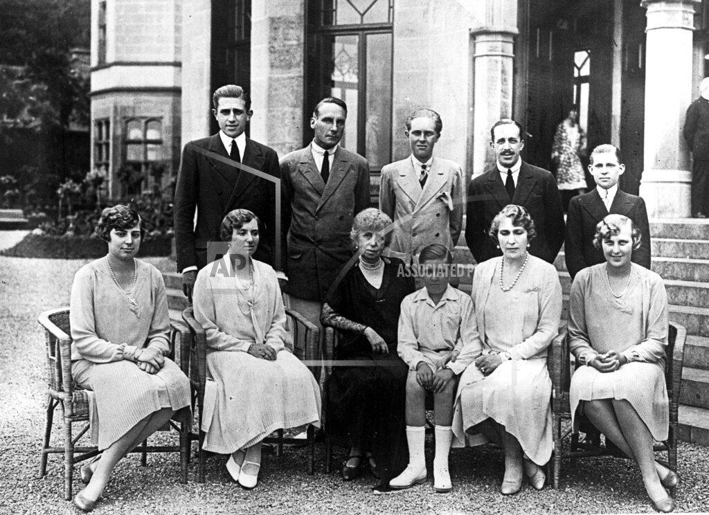 AP I SPAIN SPANISH ROYAL FAMILY 1927
