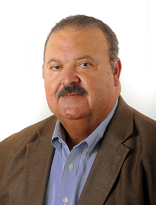 Natchez Mayor Rex Maynor is seen in a March 31, 2020 photo. Maynor, a longtime newspaper executive has been named publisher of several Mississippi newspapers and magazines owned by Boone Newspapers Inc. Maynor will lead The Natchez Democrat, Natchez The Magazine, The Brookhaven Daily Leader, Brookhaven Magazine, the Prentiss Headlight and their digital and print products. (Ben Hillyer/The Natchez Democrat via AP)