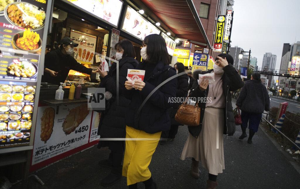 Virus Outbreak Japan Daily Life