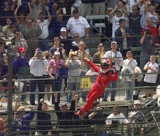 Indy 500 2001 Countdown Race 85 Auto Racing