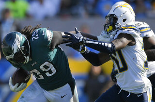 Eagles Chargers Football