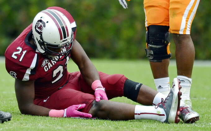 Ex-RB Lattimore handling new role for South Carolina