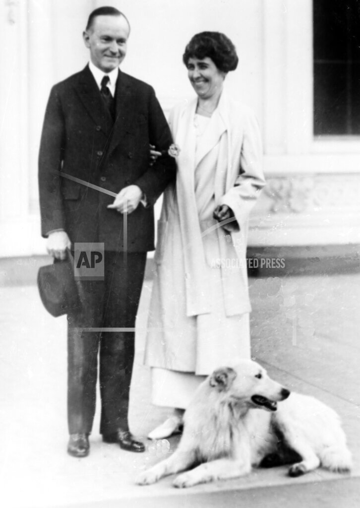 Associated Press Domestic News Dist. of Columbia United States PRESIDENT COOLIDGE FIRST LADY