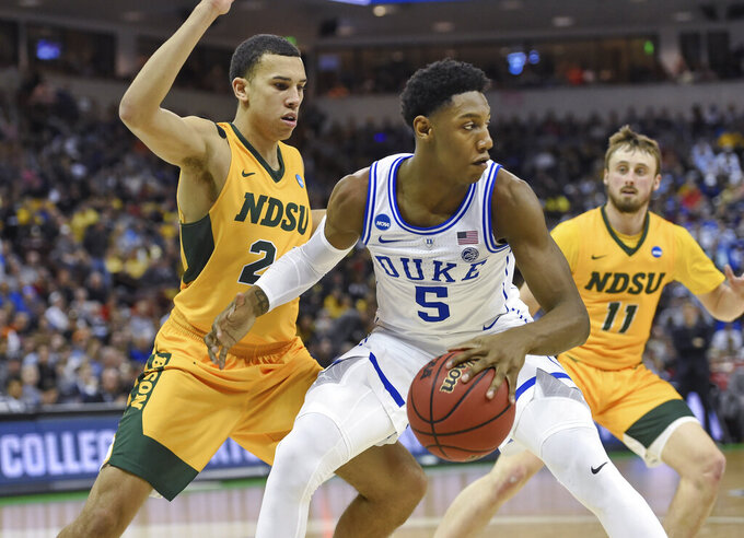 Odd surprise, lots of top NBA talent left in NCAA Tournament